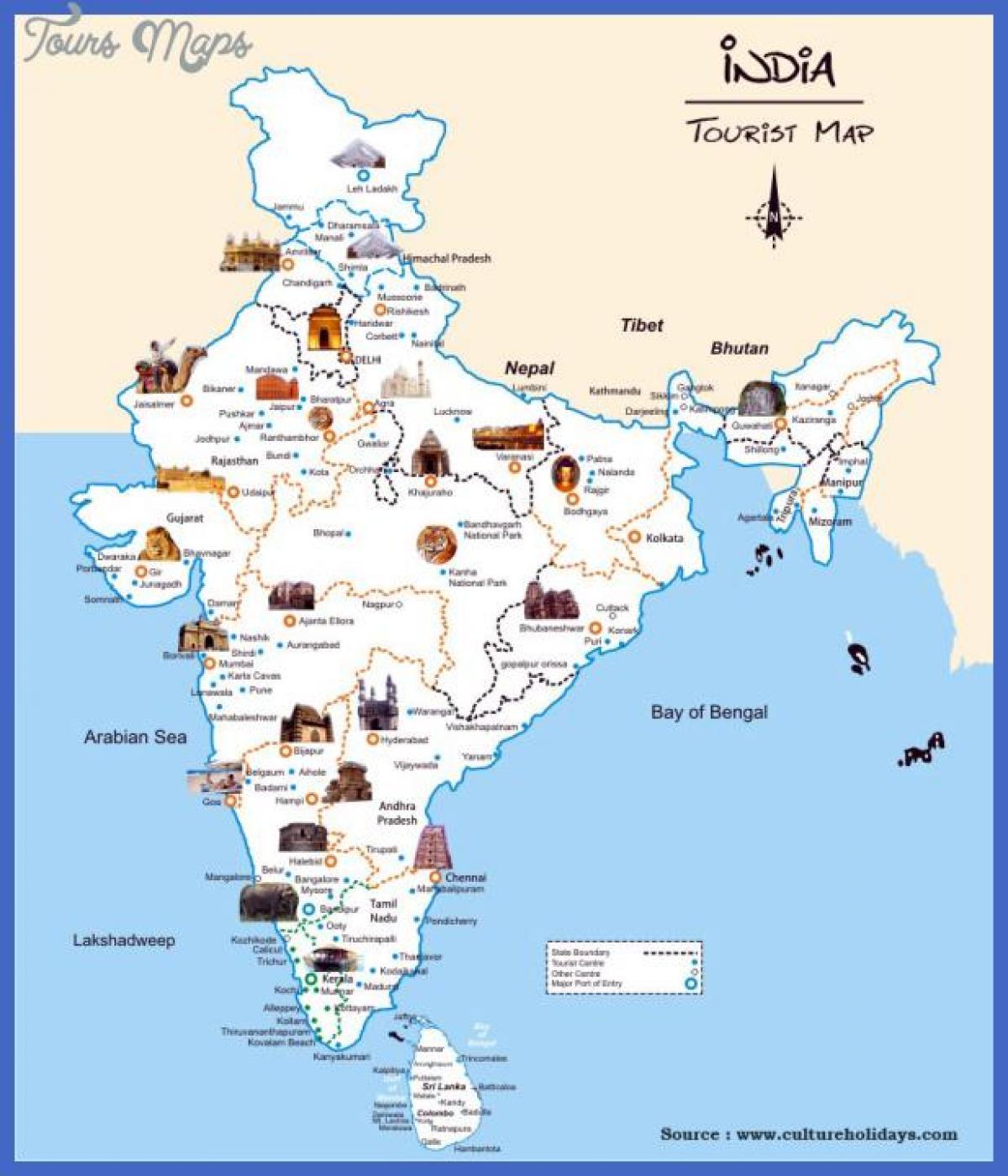 Karte Anzeigen.Indien Attraktion Anzeigen Indien Sehenswurdigkeiten Karte