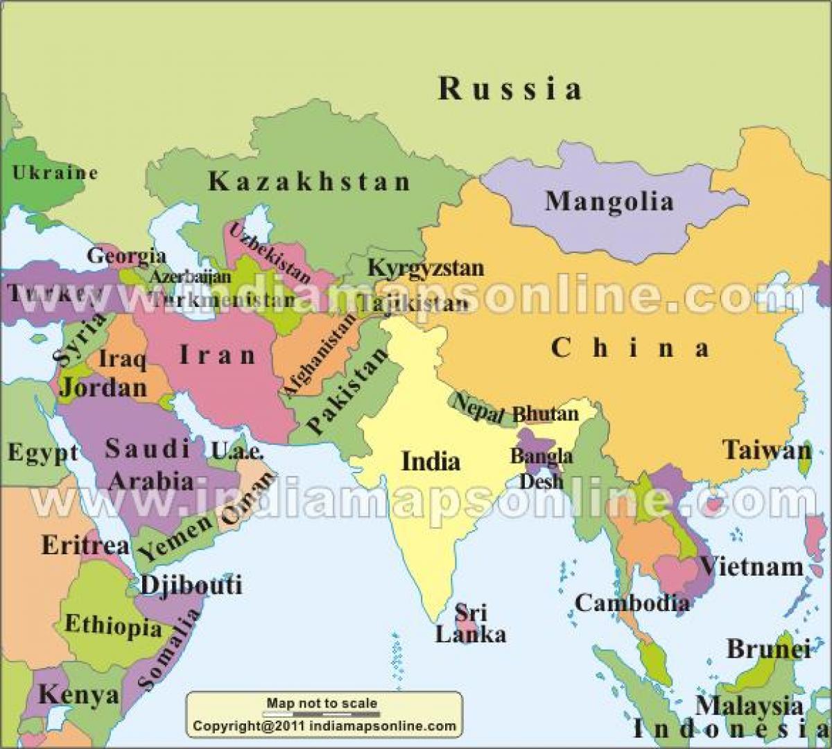 Karte Iran Nachbarlander.Nachbarlander Indien Karte Karte Von Indien Mit Den